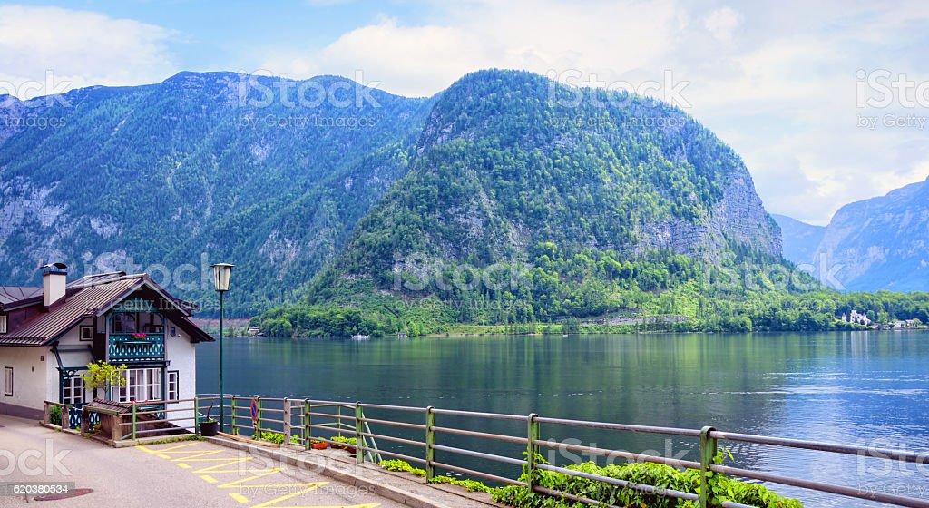 Hallstatt, Áustria foto de stock royalty-free