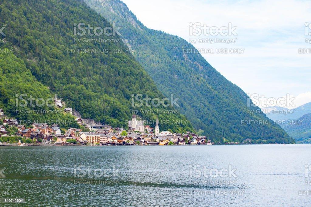 Hallstatt, Austria stock photo