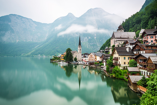 Austria, Hallstatt, Salzburg, Salzkammergut, Upper Austria