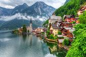 istock Hallstatt village in Austria 507489863