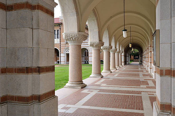 Hallway of Lovett Hall