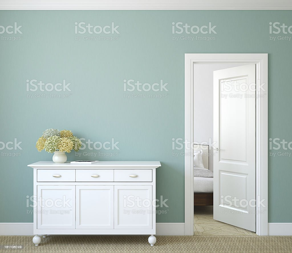 Hallway. stock photo