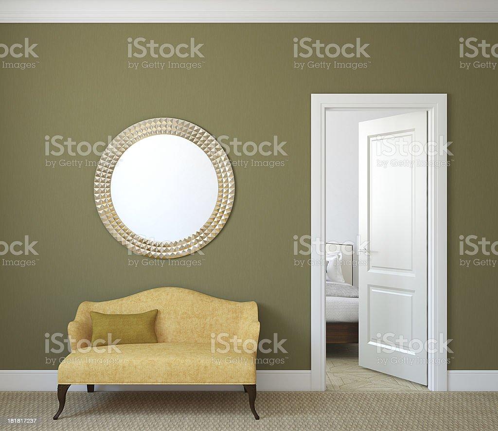Hallway. stock photo