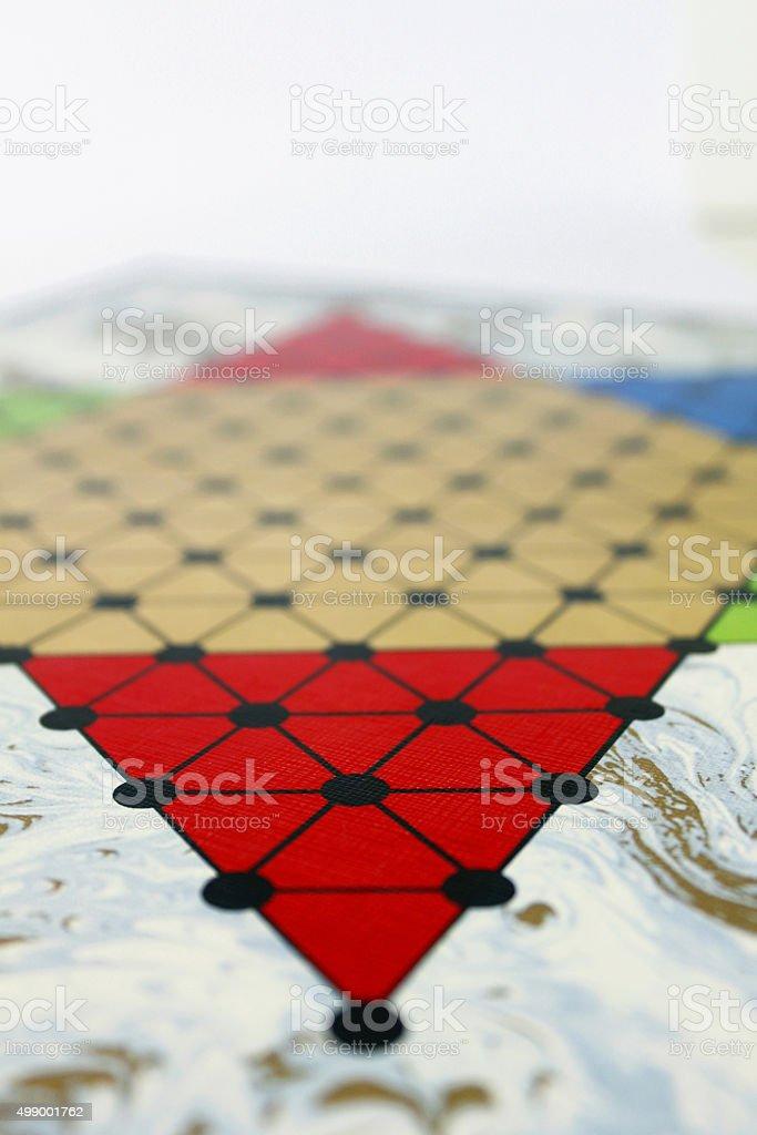 Halma Spiel game play spielen fun strategy stock photo