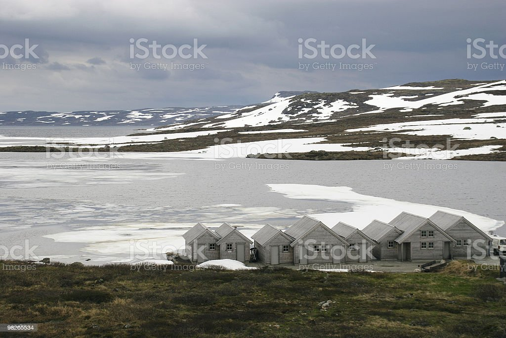 Halnefjorden royalty-free stock photo
