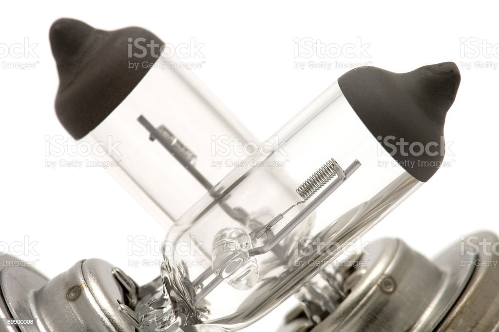 halogen bulb close up royalty-free stock photo