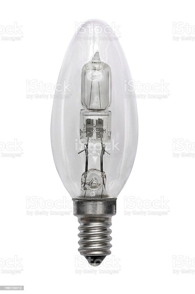 Halogen bulb. Isolated image stock photo
