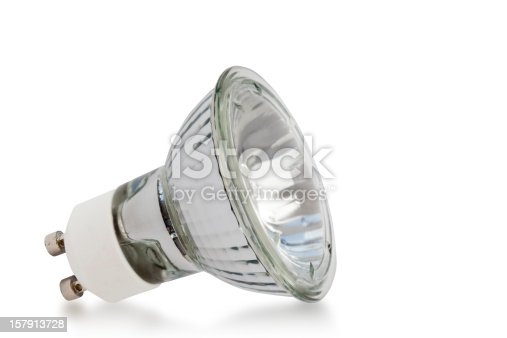 Halogen bulb isolated on white with outline path. http://www.pixel-pixie.co.uk/istock-stp-img/lbm-everyday-objects.jpg