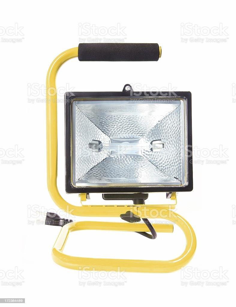 Halogen Worklamp Isolated stock photo