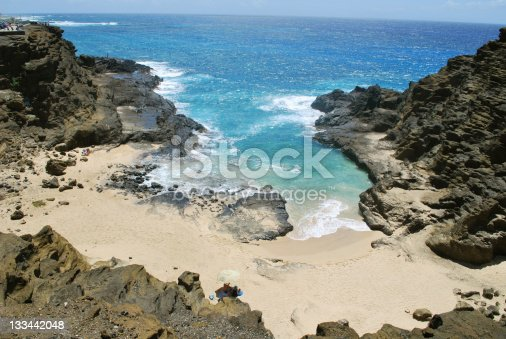 Halona Cove Beach  is the location of one of the most classic film scenes in American cinema. It is also called \