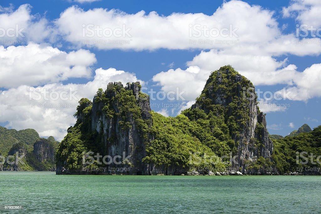 halong bay royalty-free stock photo