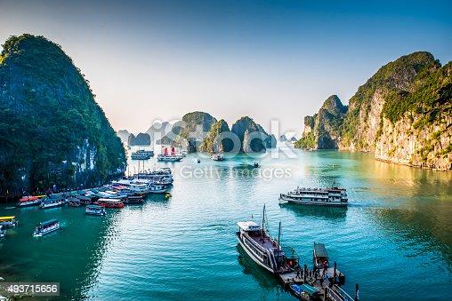 istock Halong Bay Vietnam 493715656