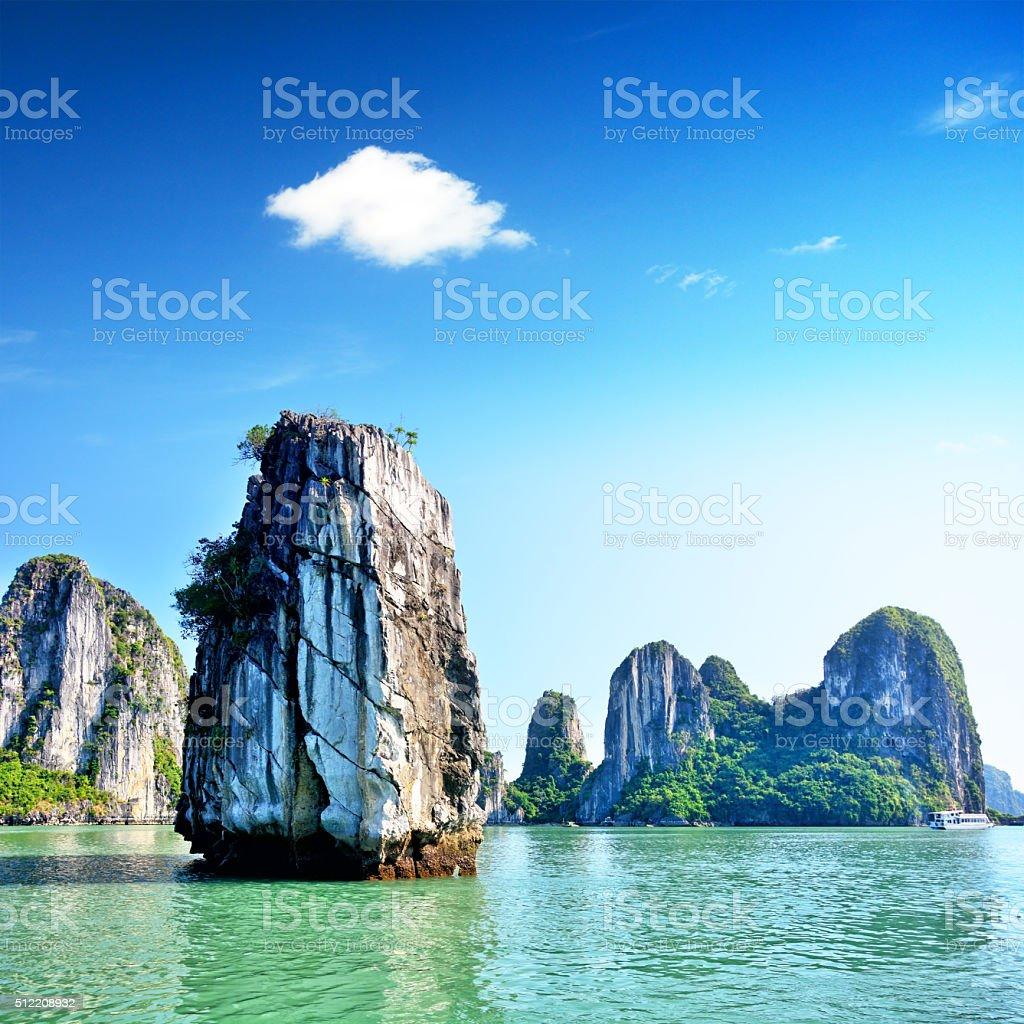 Bahía de Halong, Vietnam - foto de stock