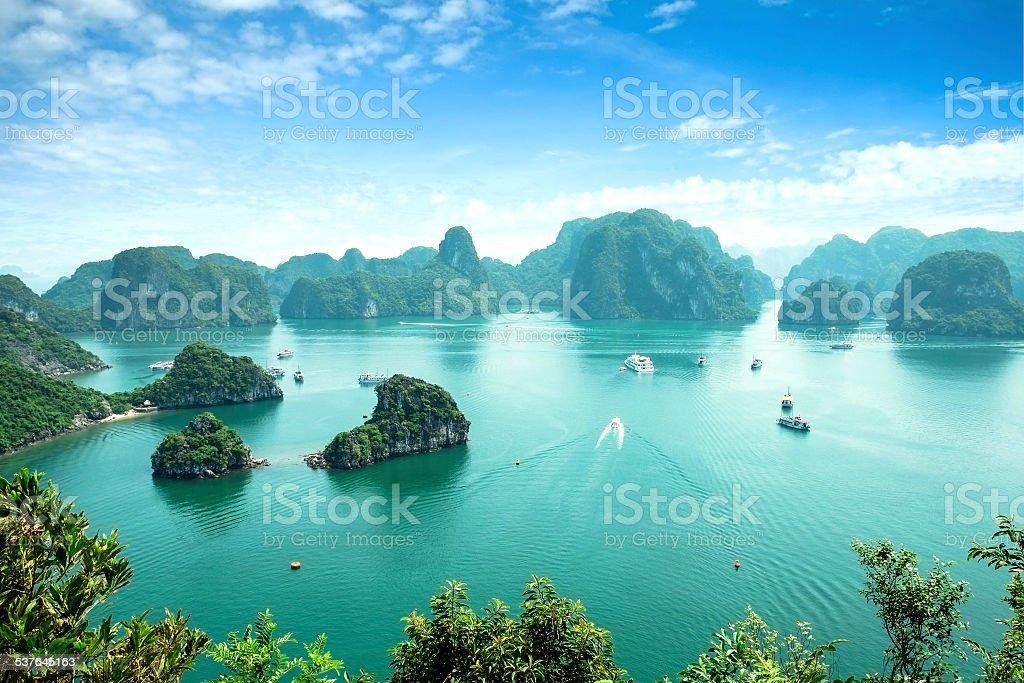 Bahía de Halong, Vietnam. - foto de stock