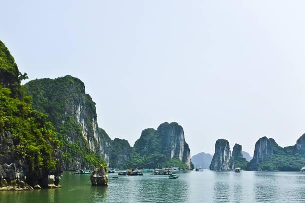 Halong Bay, Vietnam stock photo