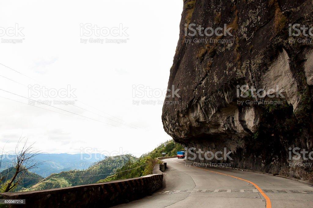 Halsema Highway - Luzon - Philippines stock photo