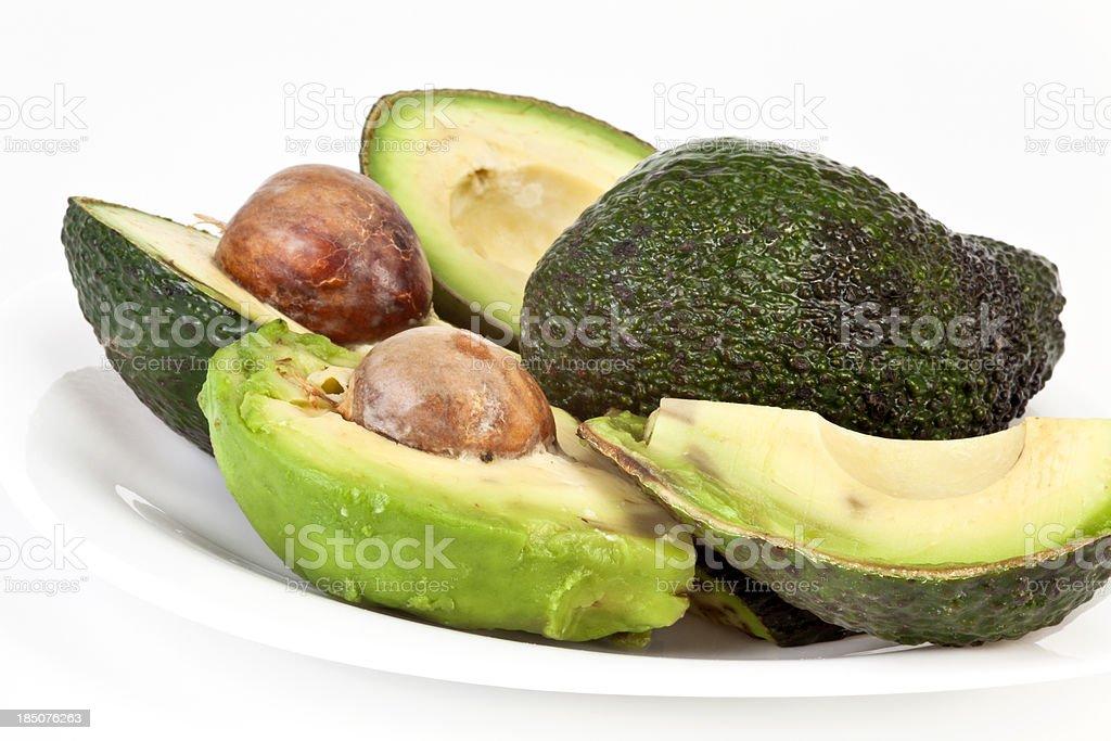 Halved Avocado royalty-free stock photo