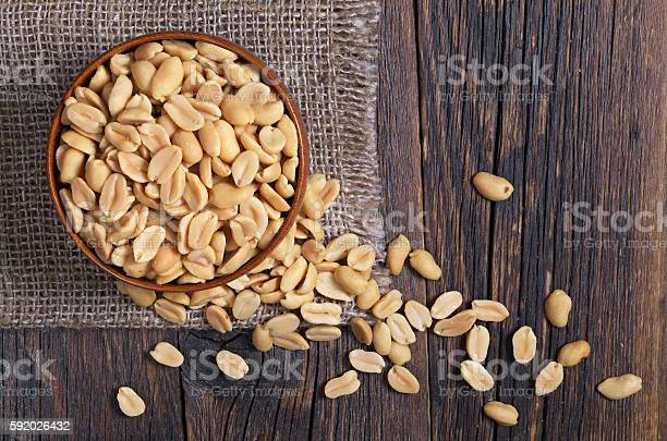 Halves Of Roasted Peanuts Stock Photo - Download Image Now