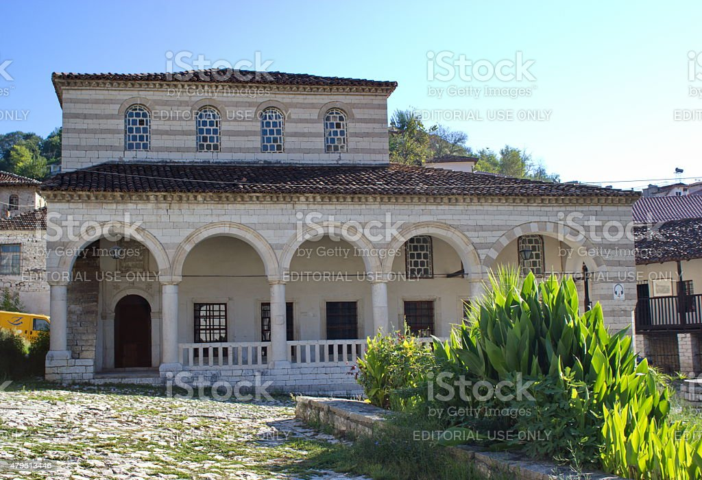 Halveti Teqe, Berat, Albania stock photo