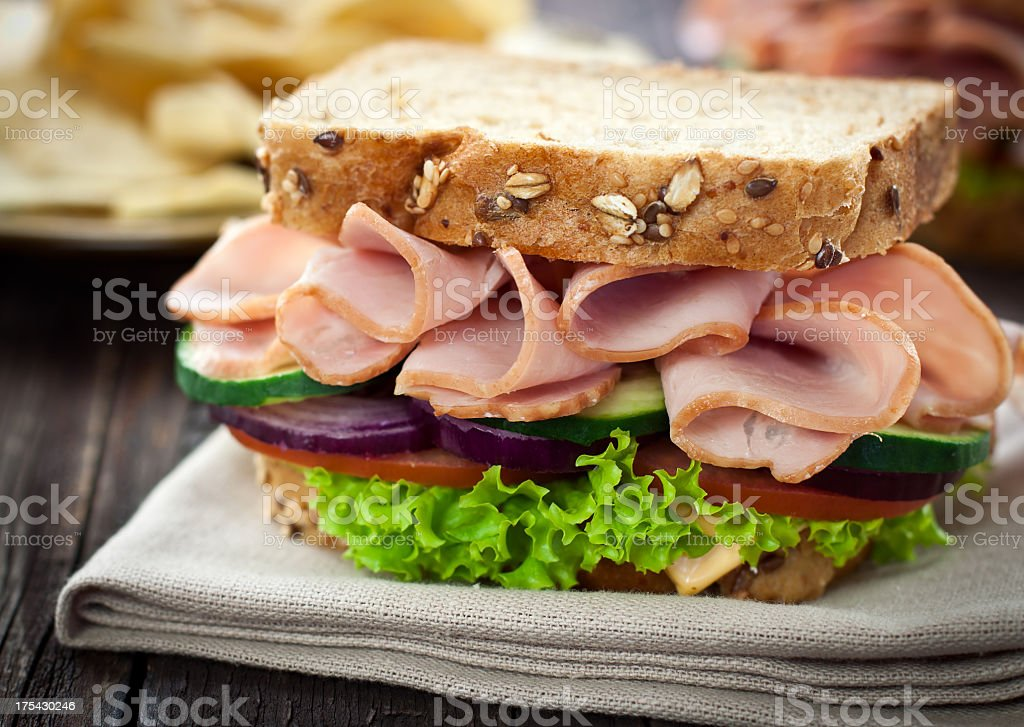 Sandwich jambon fromage - Photo