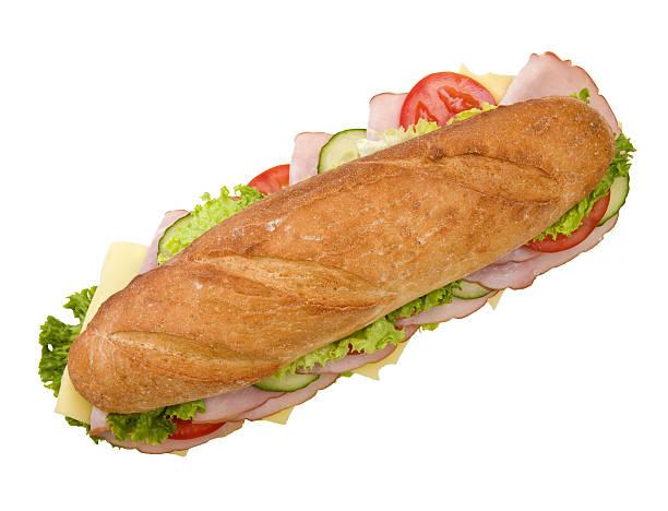 Ham and cheese sandwich 12