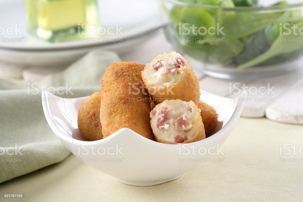 Ham croquettes foto