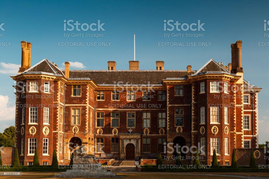 Ham House in Richmond, London, UK stock photo