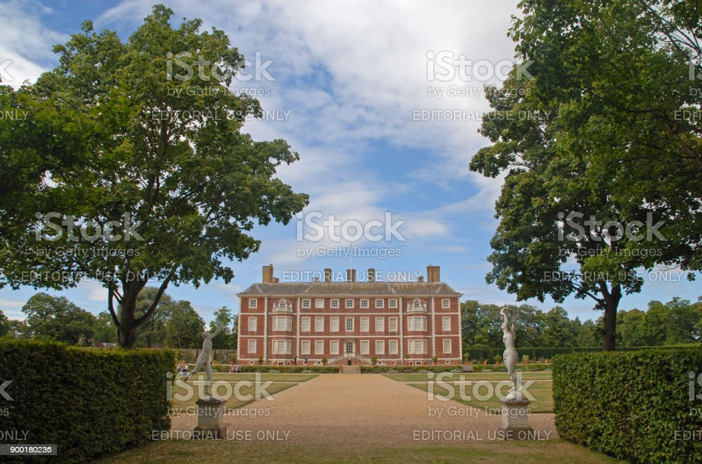 Ham House in Richmond royalty-free stock photo
