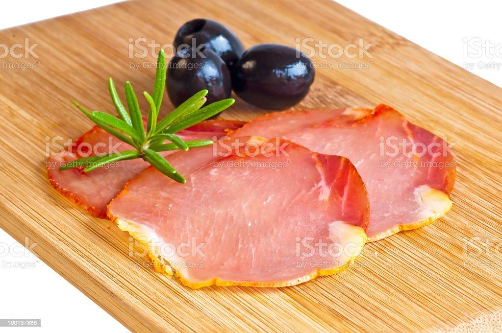 ham of Spain Lomo royalty-free stock photo