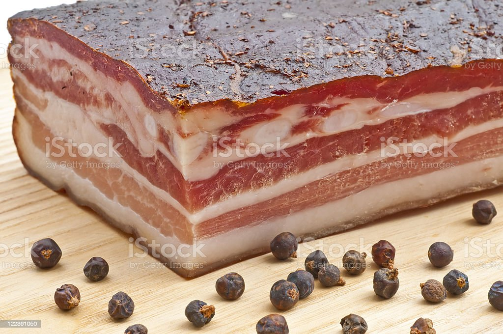 ham of the Black Forest stock photo