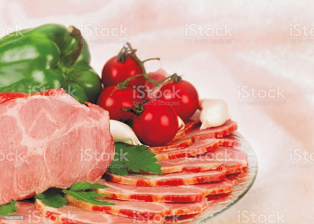 Ham royalty-free stock photo