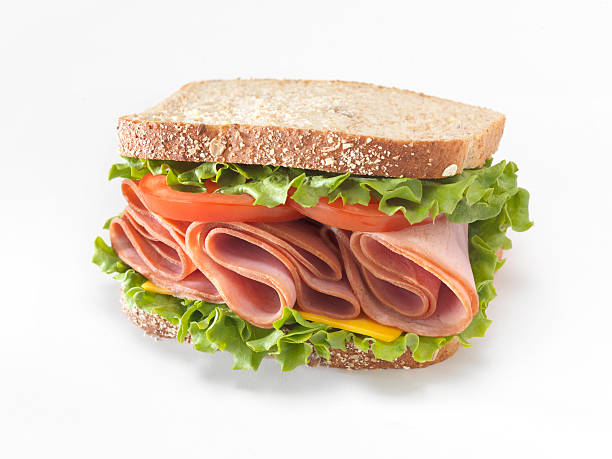 ham sandwich - sandwich stock pictures, royalty-free photos & images