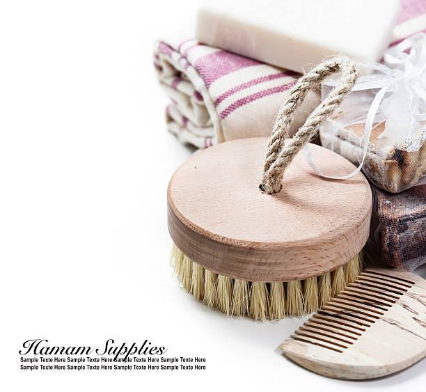 hamam - sauna textilien stock-fotos und bilder