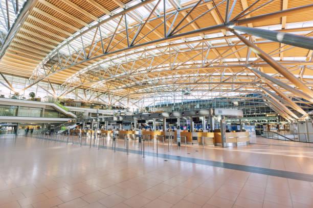 Hamburg Airport Helmut Schmidt without passengers