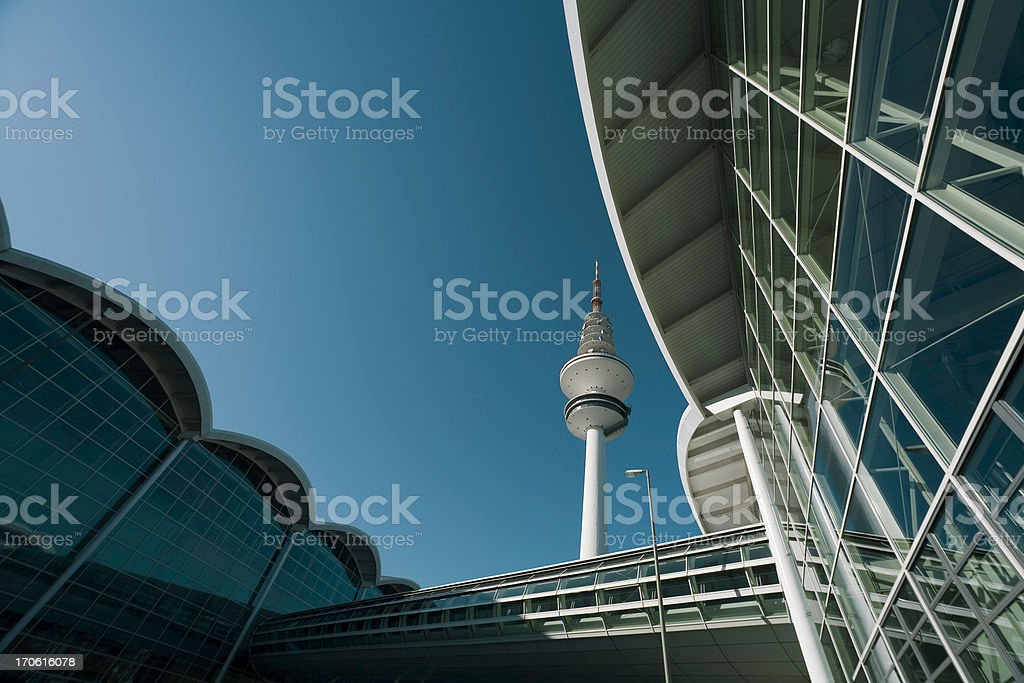 hamburg architecture royalty-free stock photo