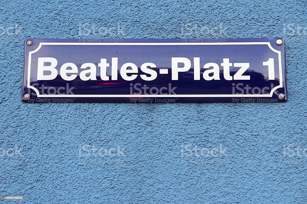 Amburgo Beatles Square - foto stock