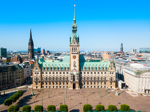 Hamburg City Hall or Rathaus