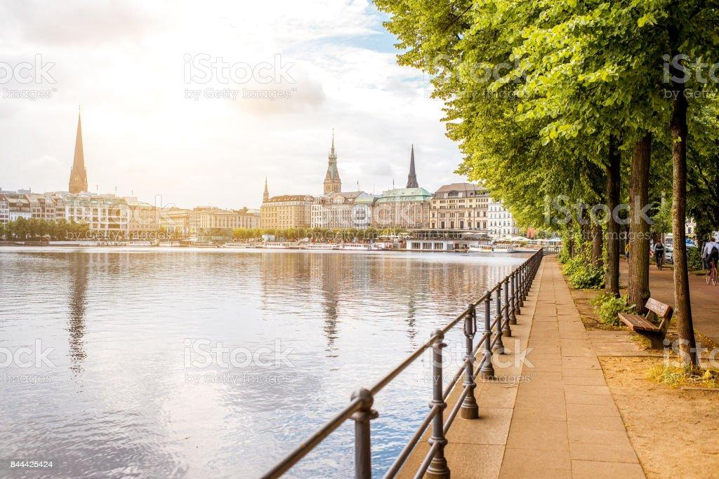 Hamburg-Stadt in Deutschland – Foto