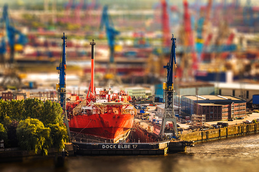 Hamburg Dock Elbe 17
