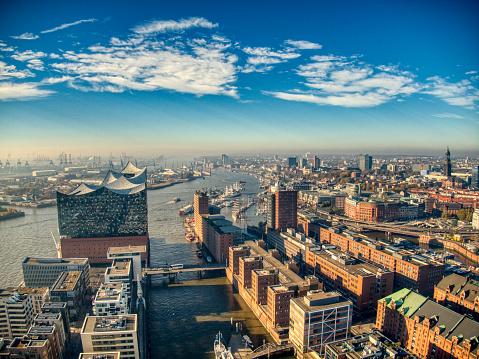 Hamburg Elbphilharmonie and Cityscape