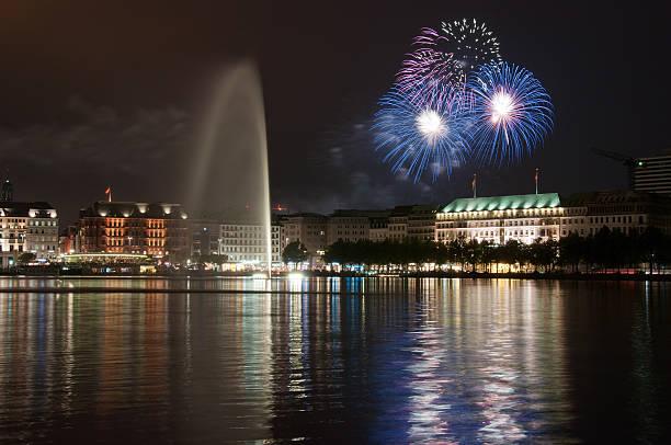 Hamburg-Feuerwerk – Foto