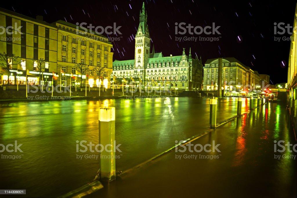 Hamburg Hochwasser – Foto