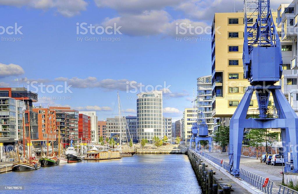 Hamburg, Germany, New Harbour City. royalty-free stock photo