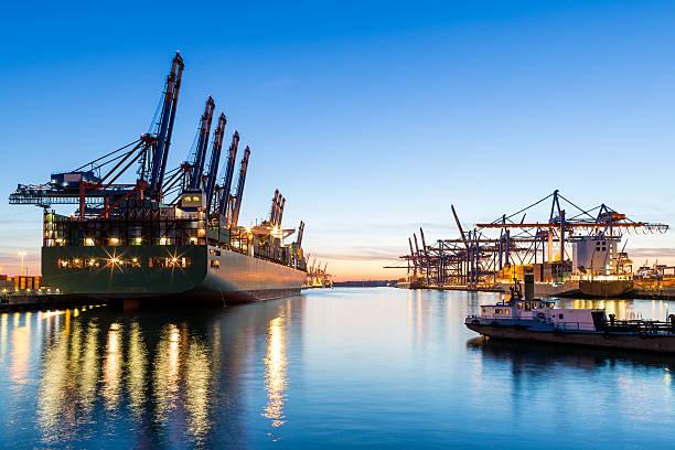 Hamburger Hafen, Cargo-Terminal – Foto