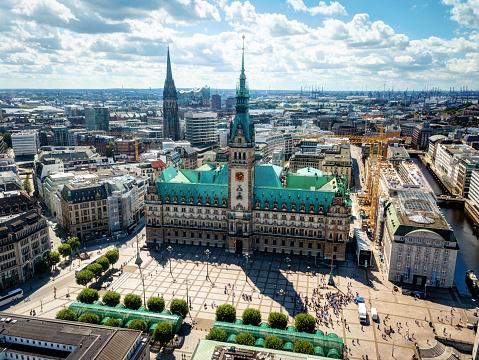 Hamburg Market Square