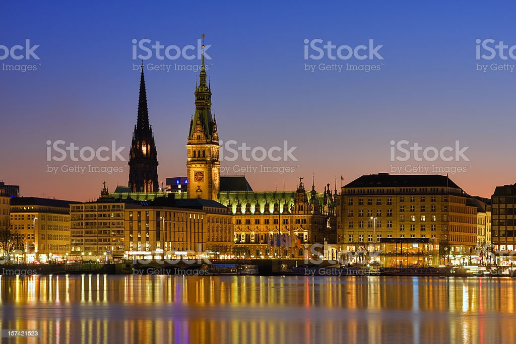 Hamburg royalty-free stock photo