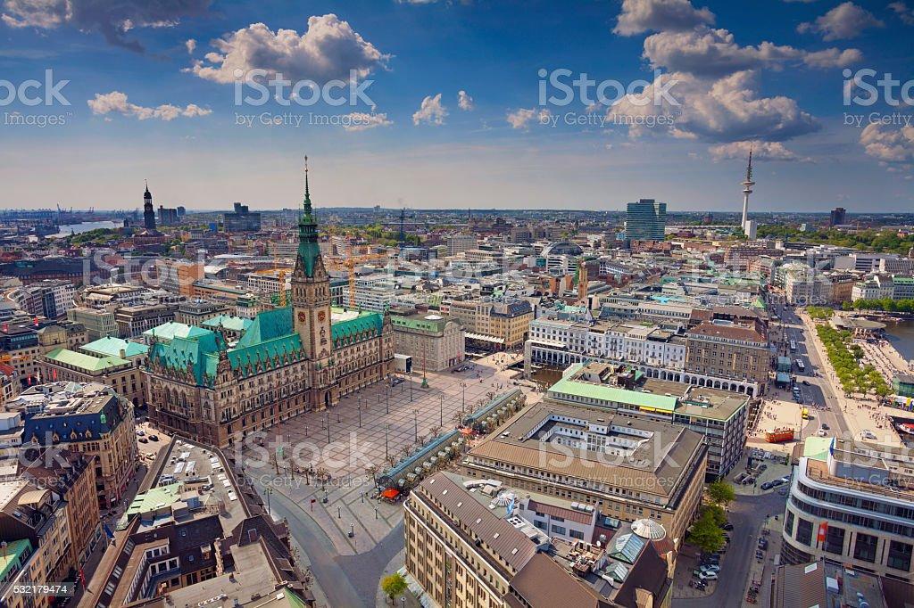 Hamburg. stock photo