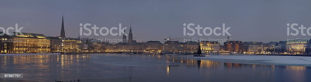 Hamburg royalty-free stock photo