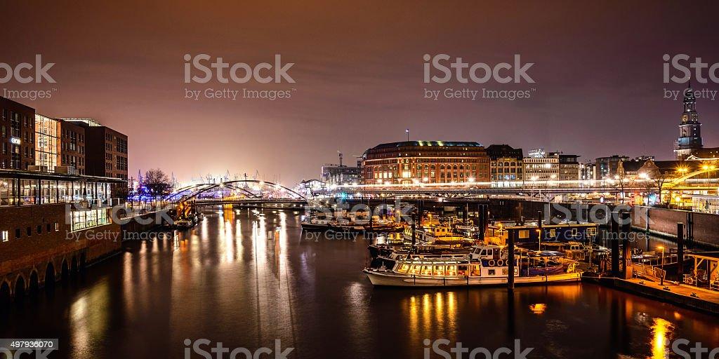 Hamburger Hafen Lizenzfreies stock-foto