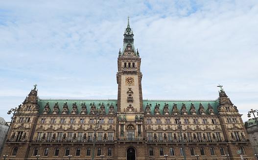 Hamburg Rathaus city hall